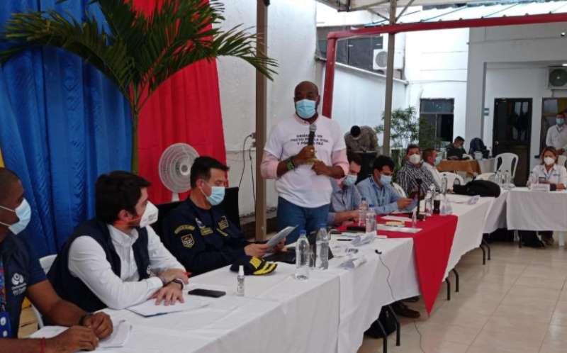 Alcalde Víctor Vidal pide plan de seguridad con pertinencia para Buenaventura