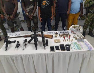 Capturaron a once presuntos integrantes de la banda 'La Local', que opera en Buenaventura