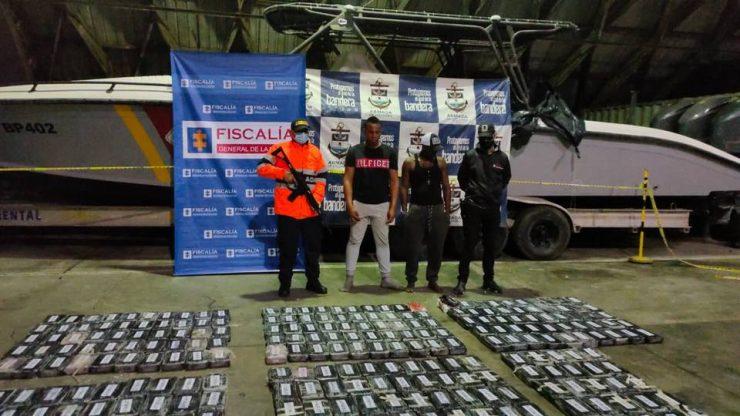Capturan a cinco personas que pretendían sacar una tonelada de cocaína por Buenaventura