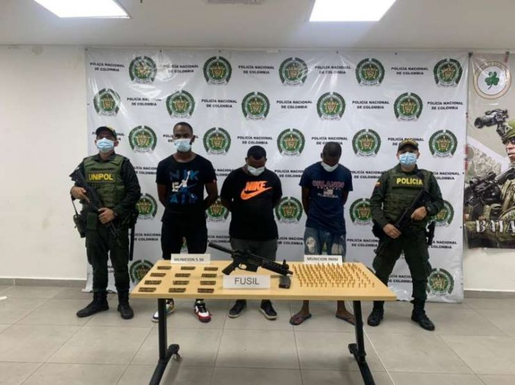 Capturan en Buenaventura a integrantes del grupo delincuencial 'Los Chotas'