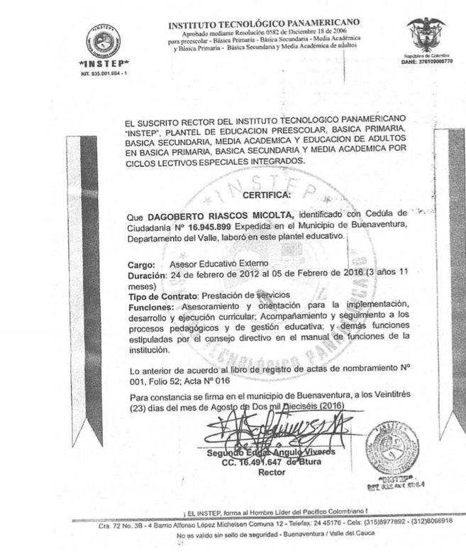 El saqueo del Centro Democrático a la Universidad del Pacífico | Noticias de Buenaventura, Colombia y el Mundo