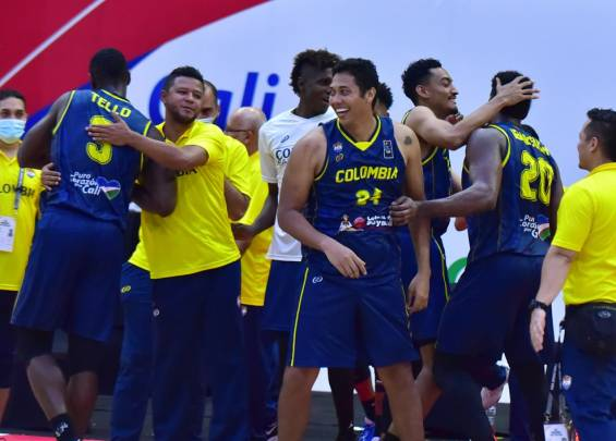 Baloncesto Colombia