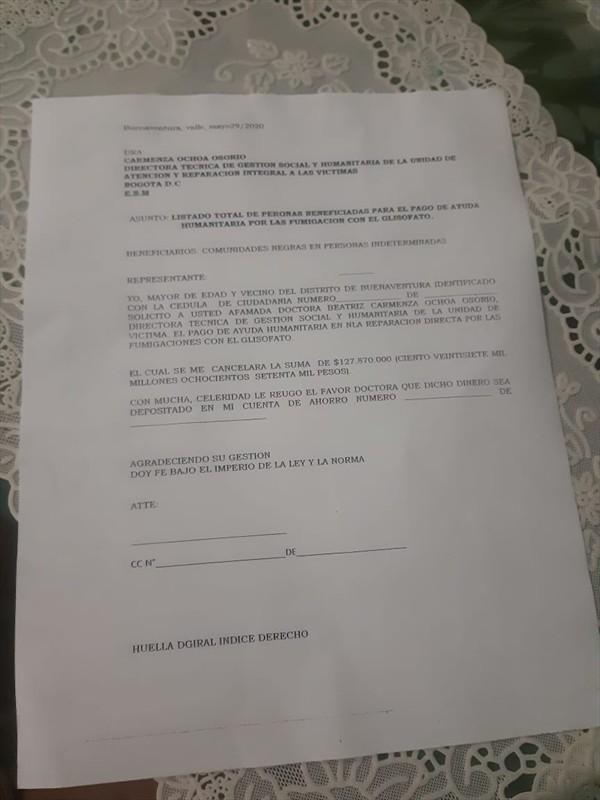Víctimas del conflicto en Buenaventura fueron estafadas en más de 600 millones de pesos