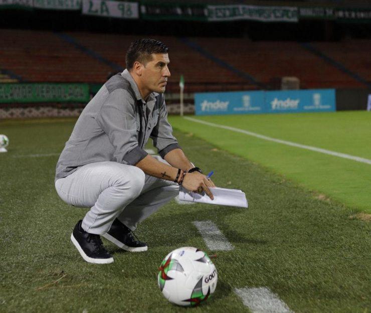 juan Cruz Real: declaraciones tras el empate entre Nacional y América - Fútbol Colombiano - Deportes