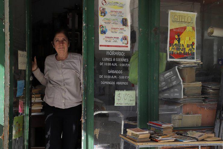 librería que sobrevive el tiempo, la tecnología y la pandemia