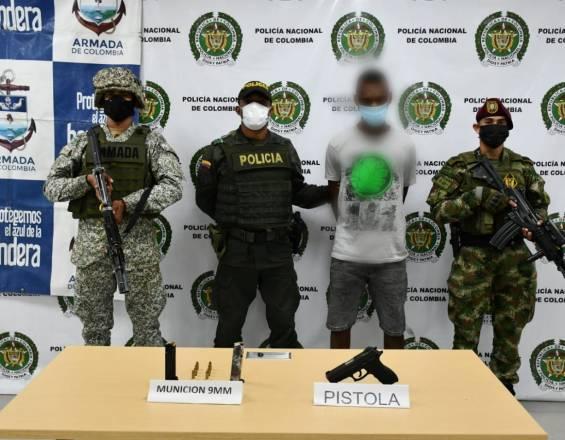 Capturan en Buenaventura a presunto colaborador de la banda 'La Local'