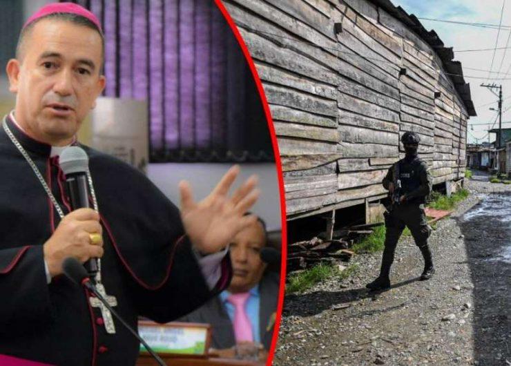 Obispo de Buenaventura: Todos saben dónde están los bandidos, nadie denuncia por miedo