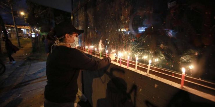 Con 'velatón' recordaron a víctimas de la violencia en Buenaventura