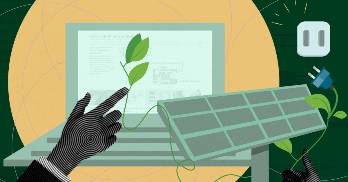 ¿Internet puede funcionar con energía solar?