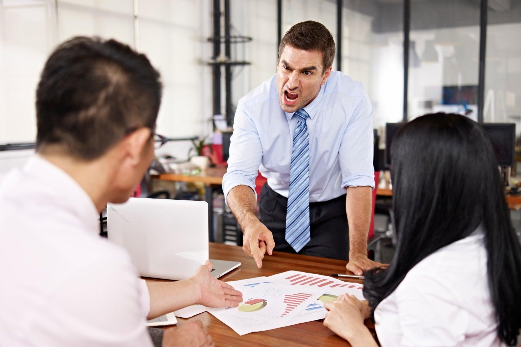 14 frases que no debes decir a tus empleados