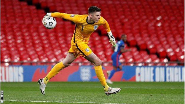Albania - Inglaterra: Nick Pope comenzará contra Albania y Polonia