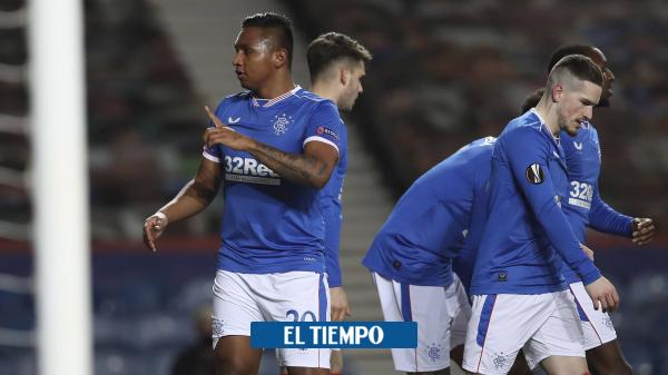 Alfredo Morelos anota gol con Rangers en Escocia: video - Fútbol Internacional - Deportes