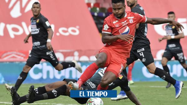 América de Cali: el increíble gol que falló Aldair Rodríguez contra Pereira - Fútbol Colombiano - Deportes