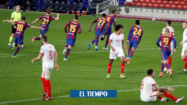 Barcelona venció 3-0 al Sevilla y es finalista de la Copa del Rey 2021 - Fútbol Internacional - Deportes