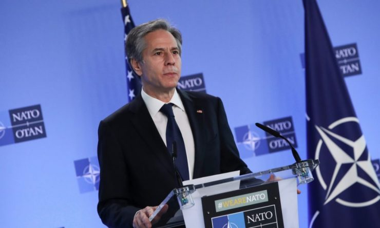 Blinken se compromete a 'revitalizar' la OTAN y la cooperación en Afganistán