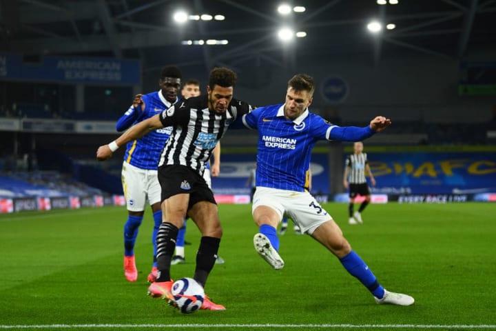 Brighton logró una victoria por 3-0 sobre el Newcastle United