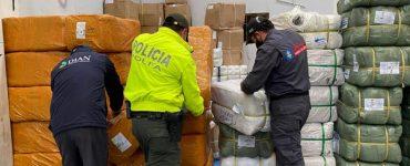 Contrabando incautado sumó $318.000 millones en 2020 | Economía