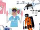 De trajes voladores a ambulancias-bicicleta, las tecnologías sanitarias del futuro