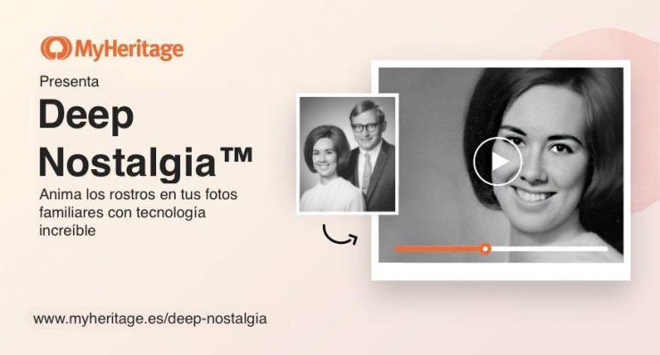 Deep Nostalgia, la tecnología de animación de rostros en fotografías históricas que ha causado sensación en Internet