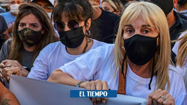 Diego Maradona: cientos de hinchas salen a la calle a pedir justicia - Fútbol Internacional - Deportes
