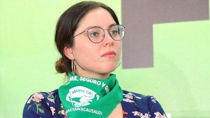 Estefanía Veloz, ex militante de Morena, se pronunció sobre la candidatura de Salgado Macedonio para la gubernatura de Guerrero.  (Foto: Instagram@estefaniavloz)