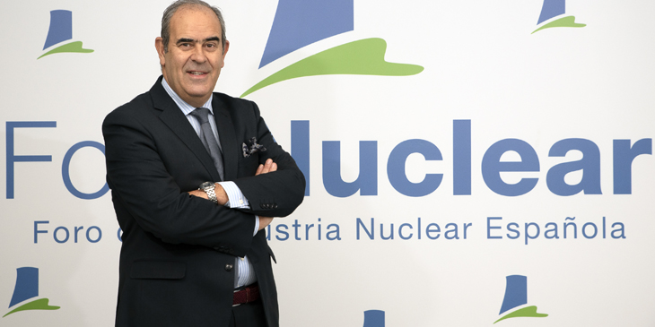 """Ignacio Araluce: """"La nuclear es una tecnología esencial para la descarbonización"""""""