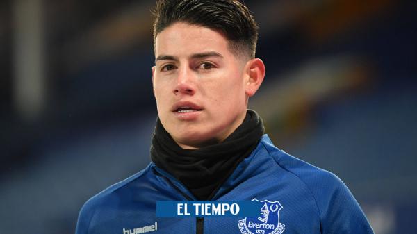 James Rodríguez no fue convocado para el Everton vs Southampton - Fútbol Internacional - Deportes