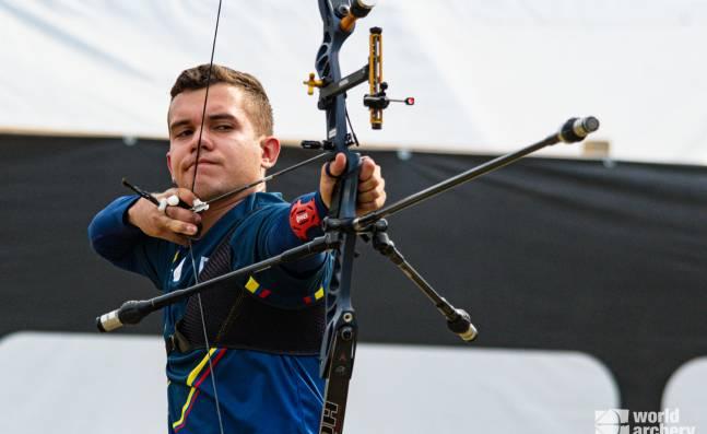 Jorge Enríquez, el caleño que alcanzó un cupo para Colombia a los Juegos Olímpicos en tiro con arco