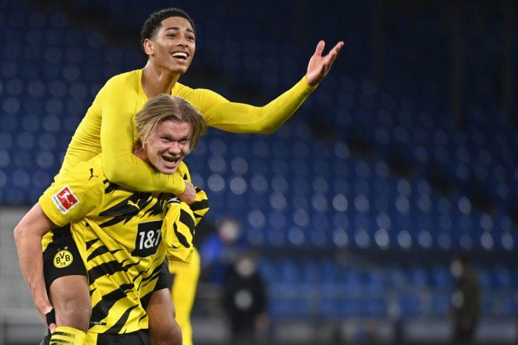 Bellingham ha estado brillante detrás de Haaland para Dortmund, haciendo 33 apariciones en su temporada de debut.
