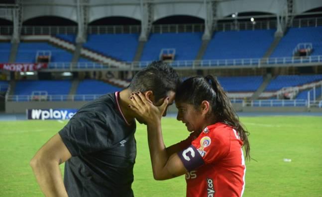 """La Tocata: """"El objetivo seguirá siendo ganar la Copa Libertadores femenina"""": Catalina y Andrés Usme"""
