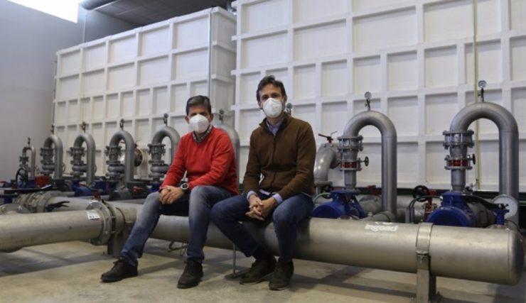 La Universidad de Córdoba prueba una tecnología 'low cost' que reduce el coste y huella de carbono del riego a presión