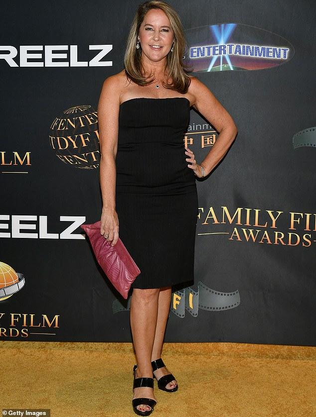 Luciendo fabulosa: Erin Murphy lució una figura glamorosa cuando fue vista asistiendo a los Family Film Awards en Los Ángeles este miércoles.