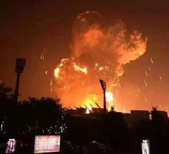 El 12 de agosto de 2015, una serie de explosiones mató a aproximadamente 173 personas e hirió a cientos más en una estación de almacenamiento de contenedores en el puerto de la ciudad.