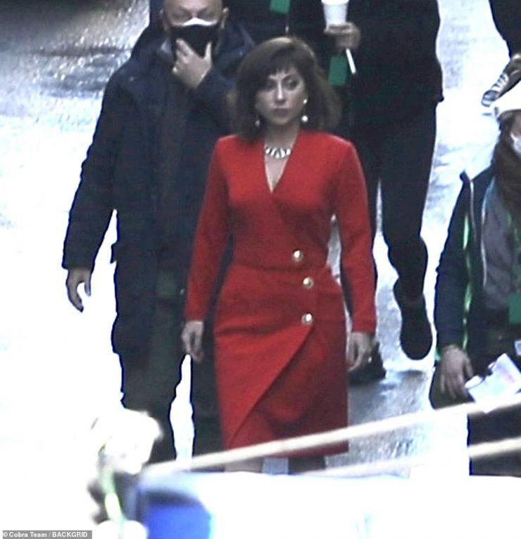 Fiel a la vida: la actriz interpreta el papel protagónico de Patrizia Reggiani, cuyo matrimonio, divorcio y posterior complot para asesinar al exmarido Maurizio Gucci está documentado en la nueva película.