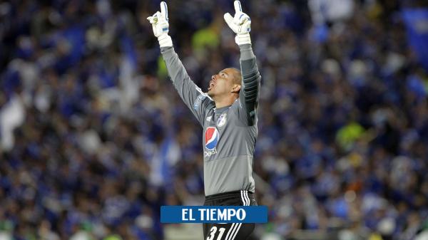 Luis Delgado, arquero campeón con Millonarios, se retira - Fútbol Colombiano - Deportes