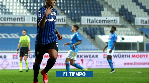 Luis Fernando Muriel: gol contra el Crotone en la Serie A - Fútbol Internacional - Deportes