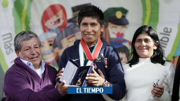 Luis Quintana¡, papá de Nairo Quintana, superó el covid-19 y salió de la clínica - Ciclismo - Deportes