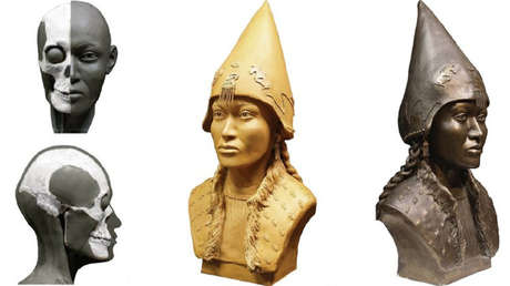 Reconstruyen en 3D los rostros de unos 'reyes' de Siberia de hace 2.600 años