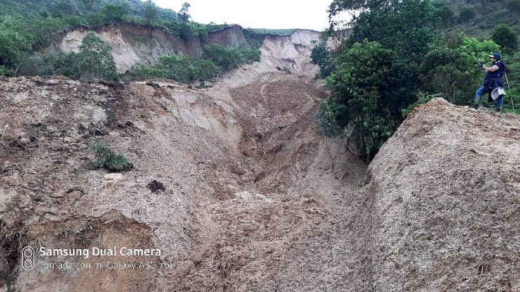 Ola invernal en el Valle: Sigue alerta en Florida por deslizamiento activo en la vereda San Juanito | Cali