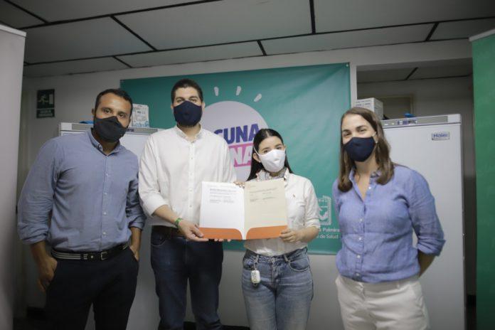 Palmira recibió donación para apoyar el proceso de vacunación a través de la campaña #UnaSolaFuerza de ProPacífico