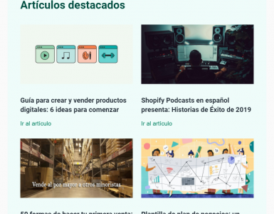 ejemplo newsletter shopify