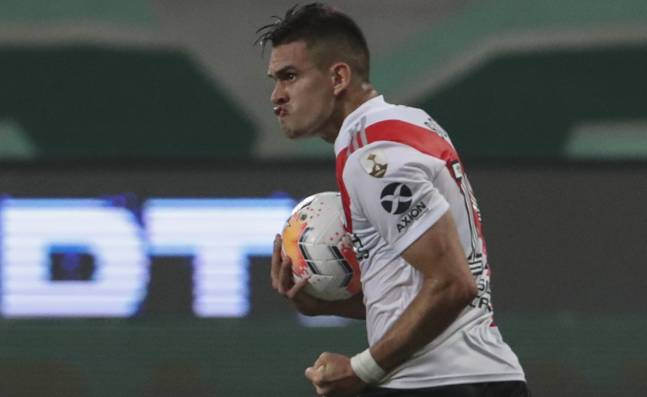 Rafael Santos Borré, la 'Máquina' de hacer goles en River Plate de Argentina