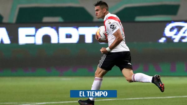 Rafael Santos Borré quedó en el once ideal de América en 2020 - Fútbol Internacional - Deportes