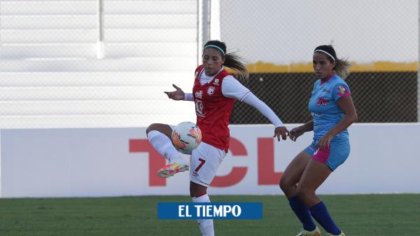 Santa Fe: los goles del triunfo contra Atlético SC Copa libertadores femenina - Fútbol Internacional - Deportes