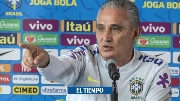 Técnico Tite de Brasil aplaza convocatoria para juego contra Colombia de las eliminatorias - Fútbol Internacional - Deportes