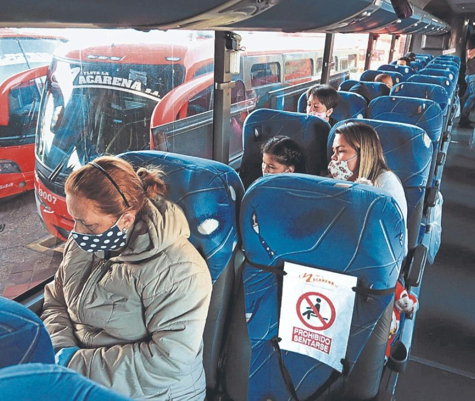 Transporte| Flotas, preocupadas por baja dinámica de viajes durante los días festivos | Economía