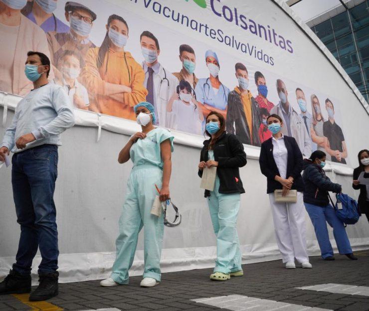 Vacunación en Colombia: inicia la segunda etapa de vacunas masivas contra Covid-19   Economía