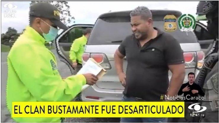 """Cae """"El Puma"""", capo que se movilizaba en lujosa camioneta por las calles de Buenaventura"""