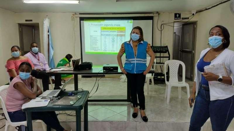 para fortalecer la vacunación contra el Covid19 en Buenaventura