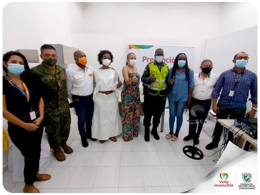 Buenaventura se articula con la línea ambiental de la Gobernación